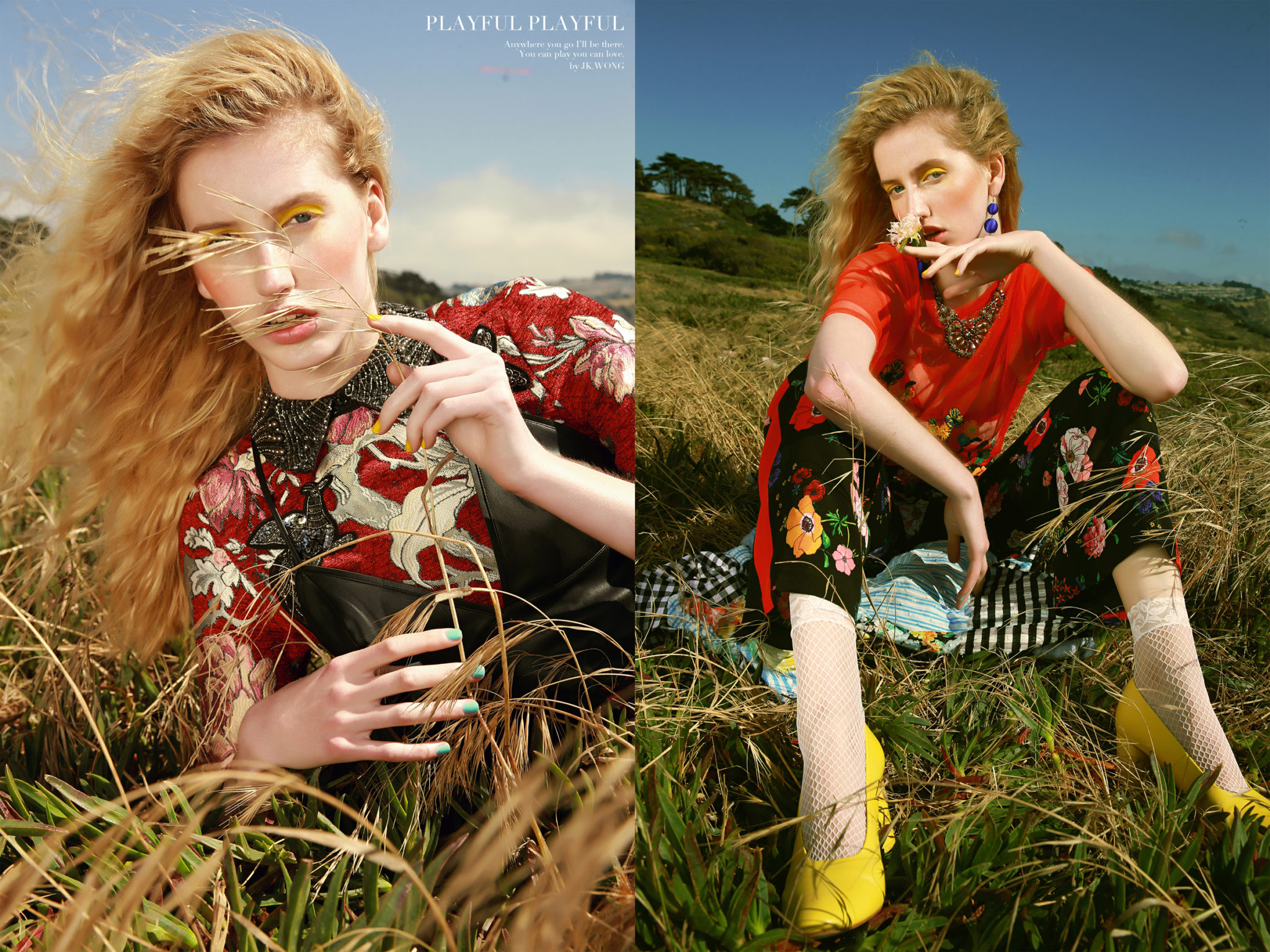 """""""Playful, Playful"""" by JK Wong featured in Vogue Italia"""