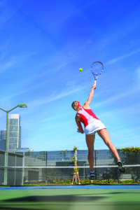 Jenny Johansson AAU Women's Tennis