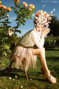 JK Wong The Queen of Hearts in Vogue Italia