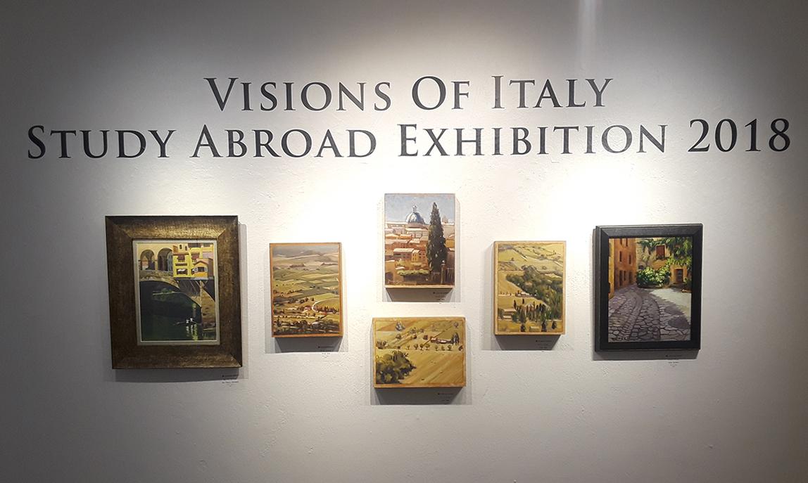 Study Abroad 2018 Exhibit