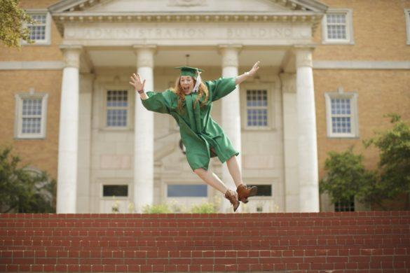 Happy High School Graduate