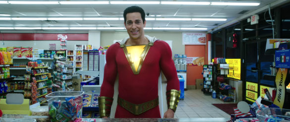 Shazam in a convenience store
