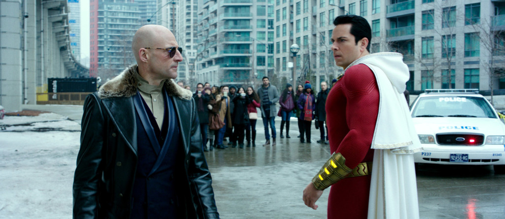 Thaddeus and Shazam face off
