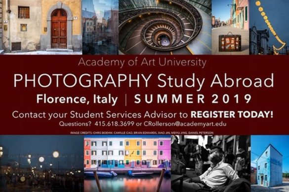 School of Photography Study Abroad Info Session
