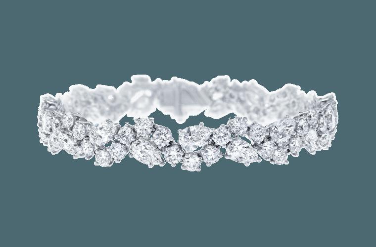 Diamond bracelet by Harry Winston