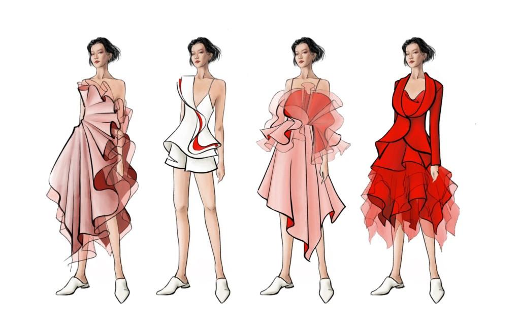 Zizi Ye Fashion Show lineup