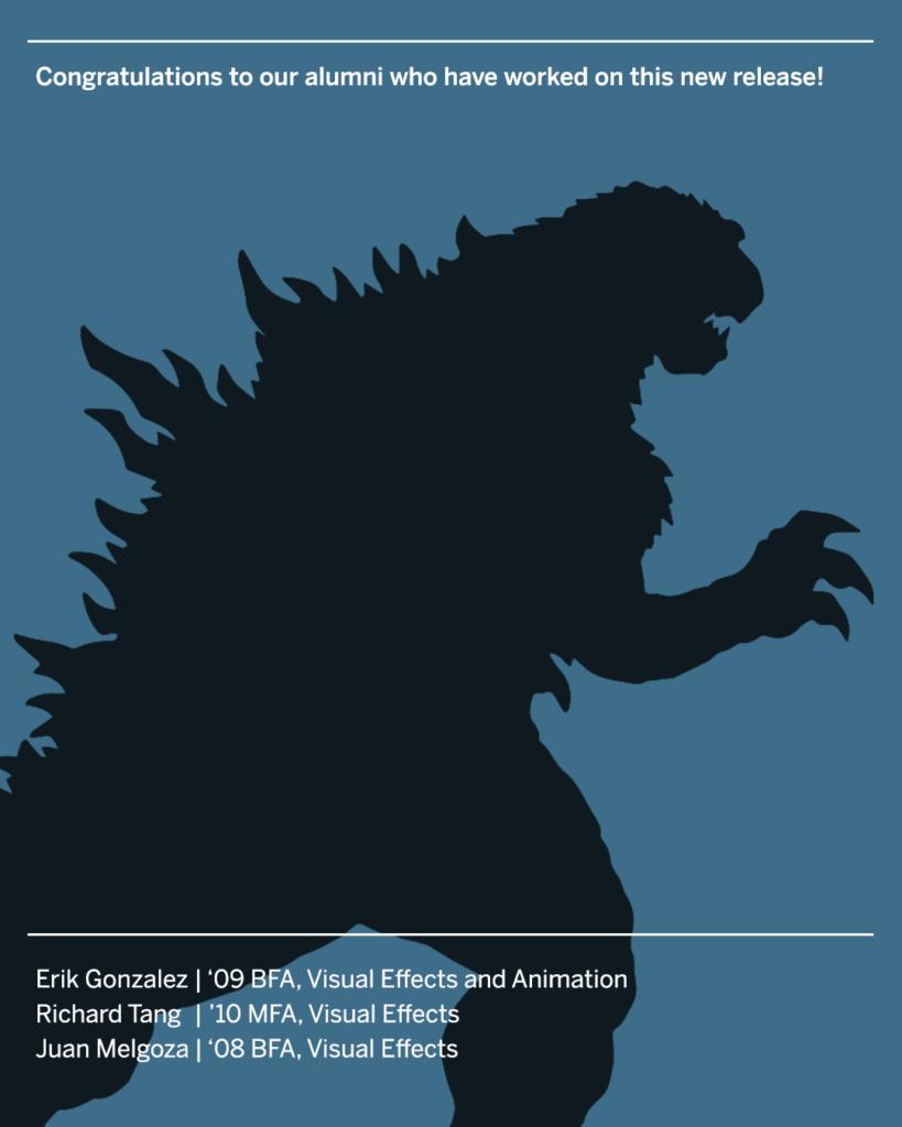 Godzilla alumni list