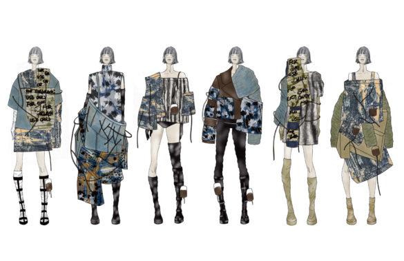 Jhing Zhao look Fashion Show 2019