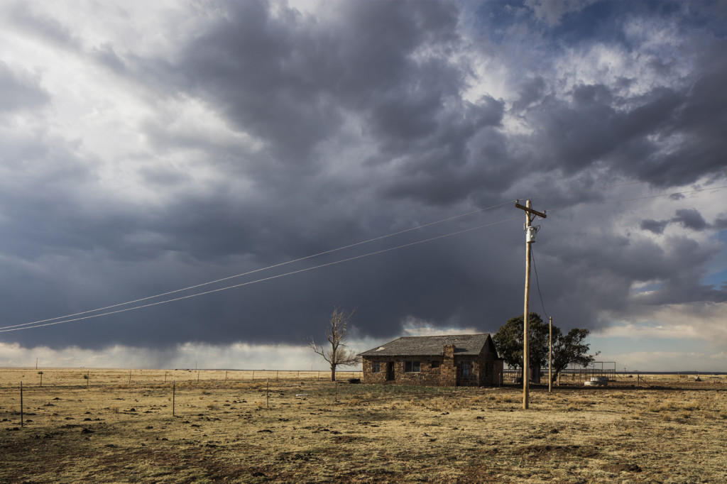 Ranch House, Mosquero, New Mexico by Brian K. Edwards