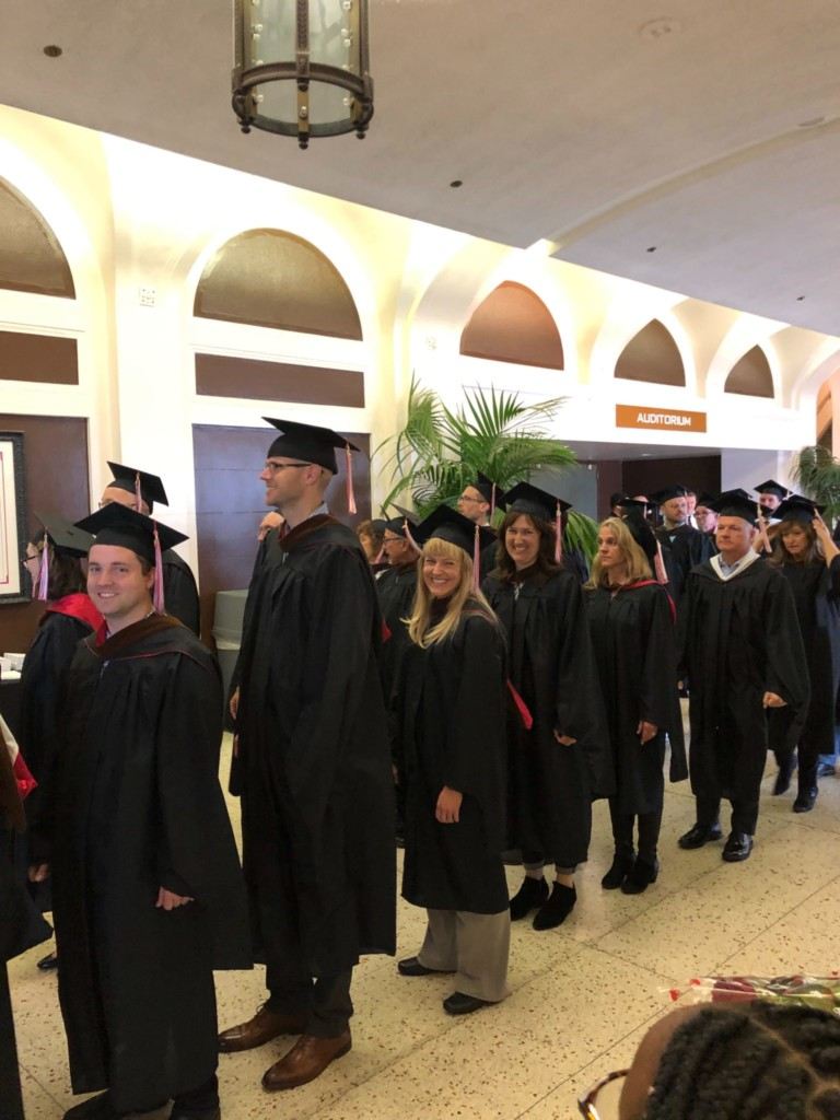 Undergrad Commencement Ceremony 2019 - Faculty & Directors