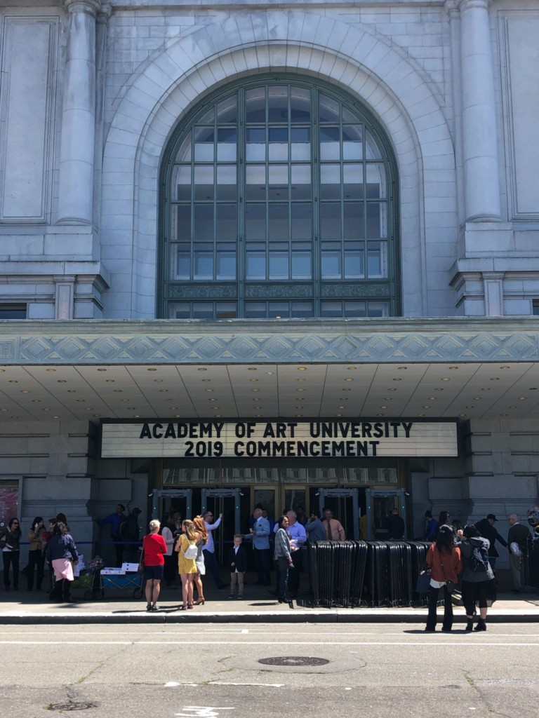Undergrad Commencement Ceremony 2019 - Bill Graham Auditorium