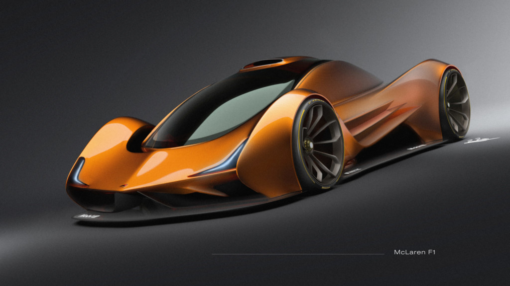 Car design by School of Industrial Design BFA student Rafael Ruiz McLaren