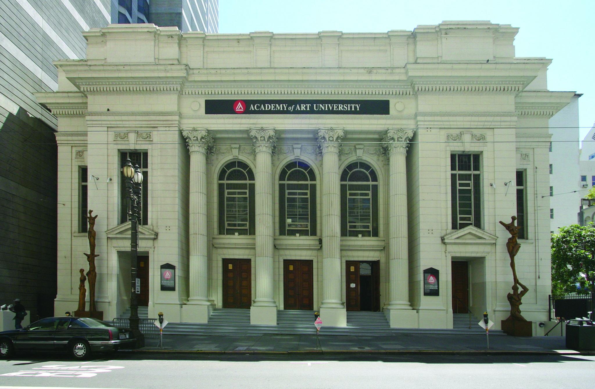 Morgan Auditorium on Post St