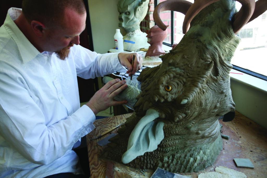 sculpting in fine arts