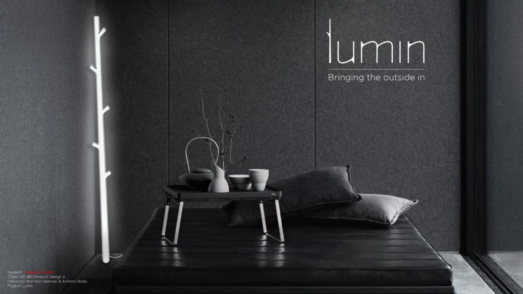 Lamp design by Industrial Design BFA Abeer Al-Rabiah