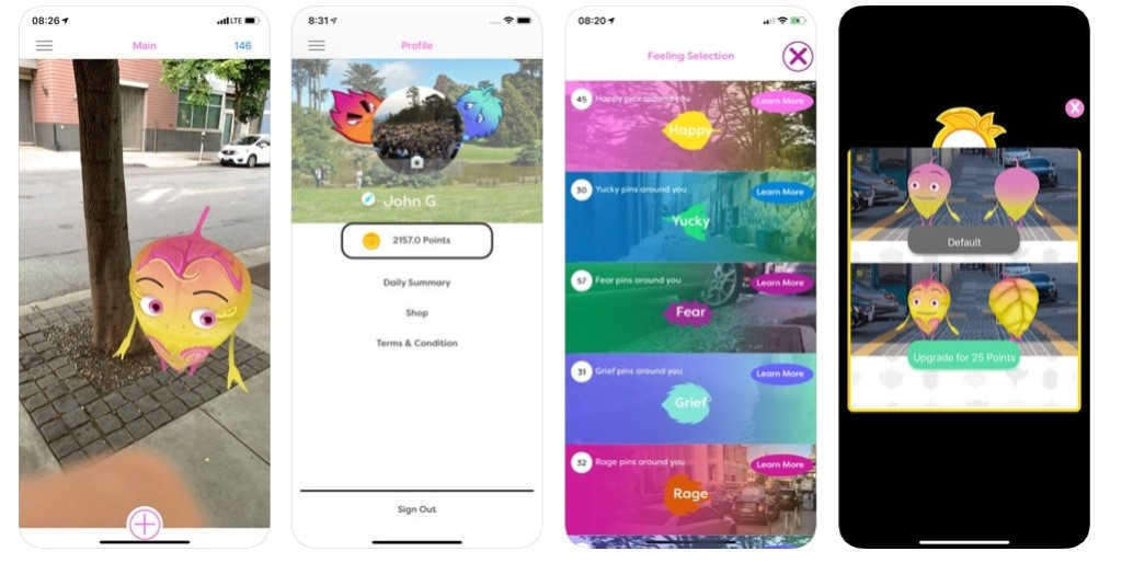 TeenTend Hackathon app