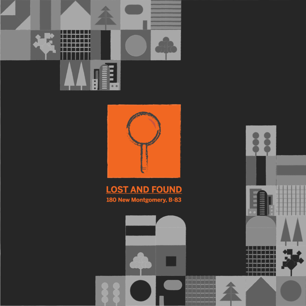 academy of art lost and found