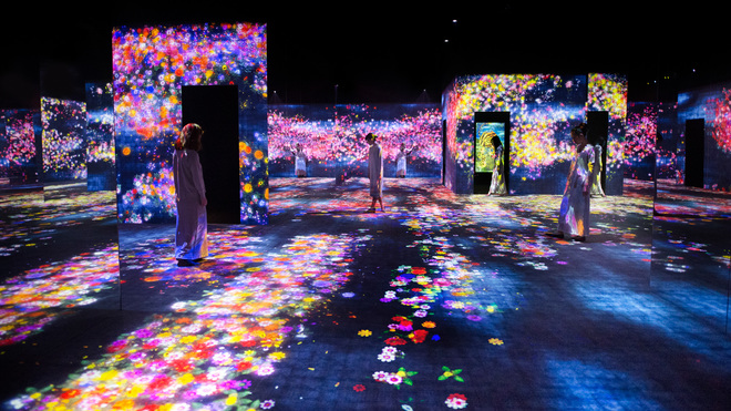 teamLab's digital museum