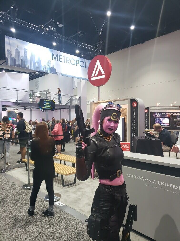 Academy of Art in Comic Con 2019