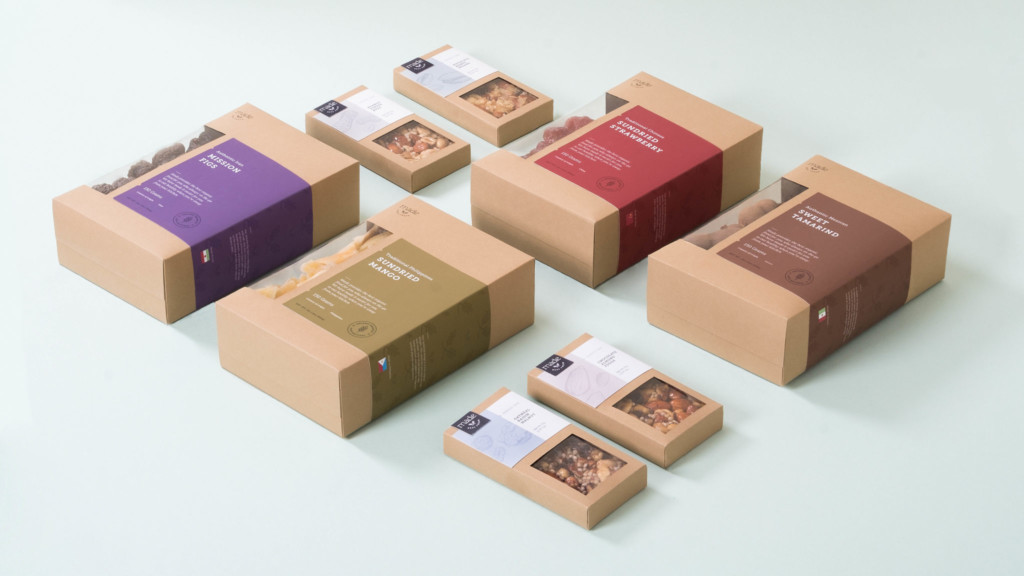 Food packaging by BFA student Alireza Jajarmi