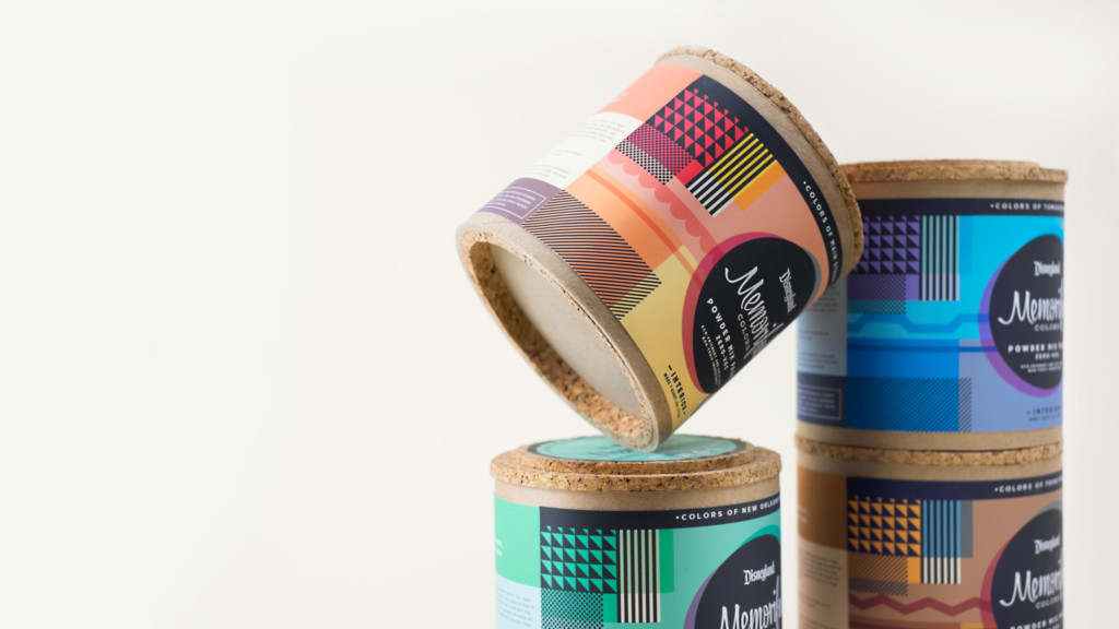 Paint can packaging by MFA student Yuya Yoshida