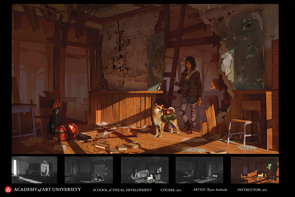 Project by Visual Development student Ryan Andrade