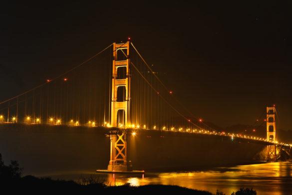 Golden Gate Bridge SFO