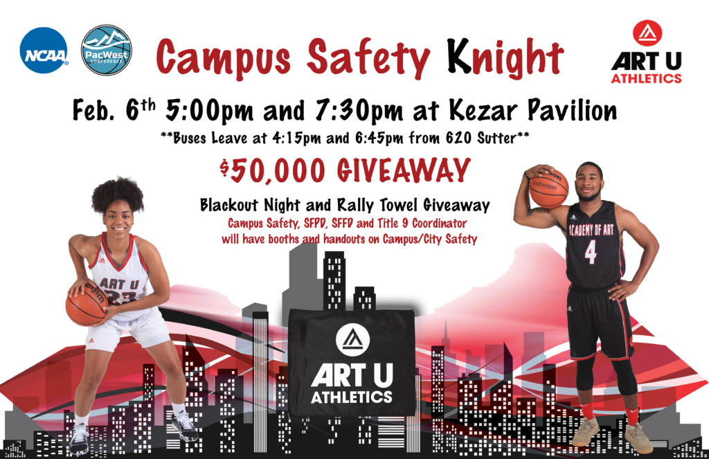 Art U Knights - Campus Safety Night
