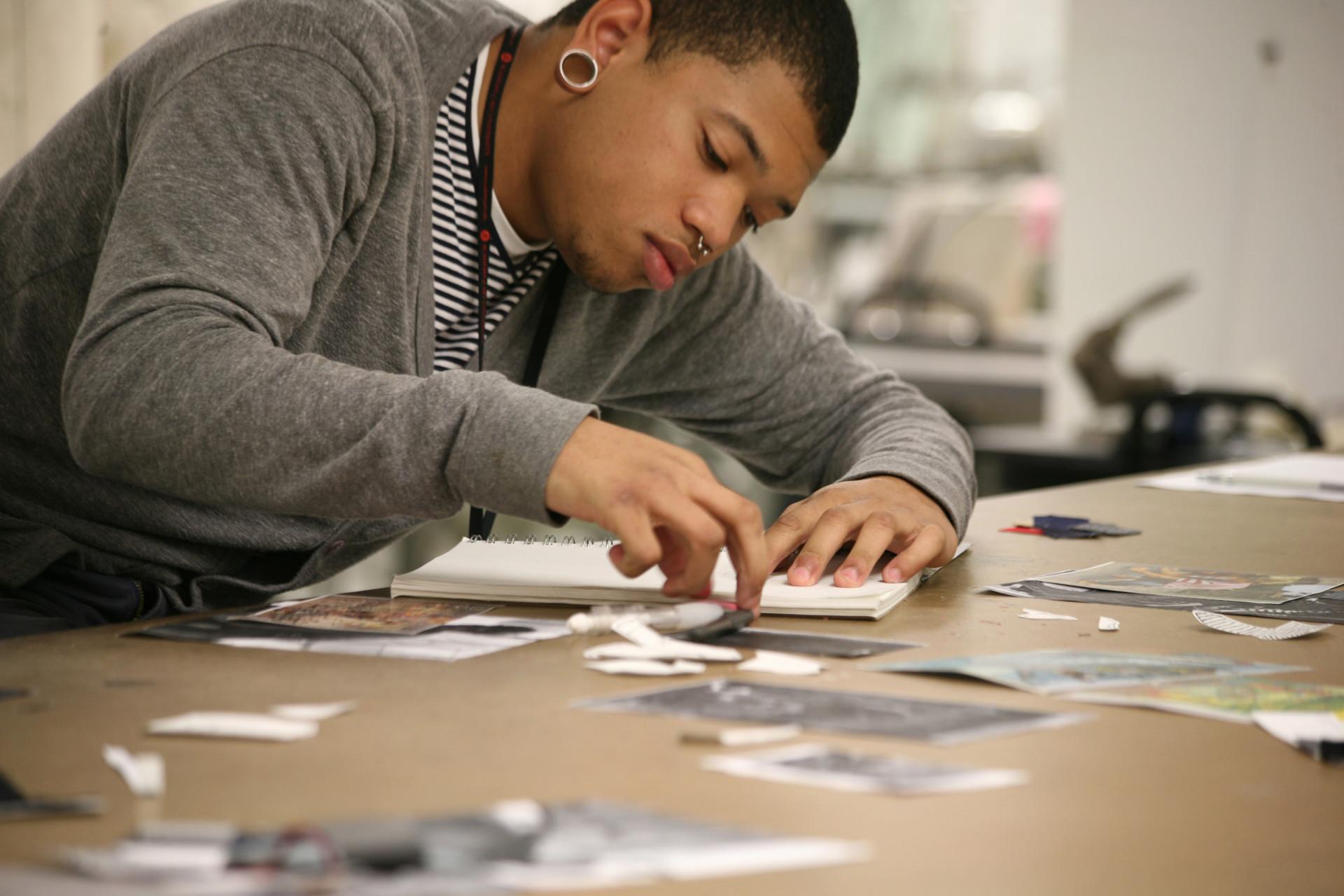 art-student-at-work