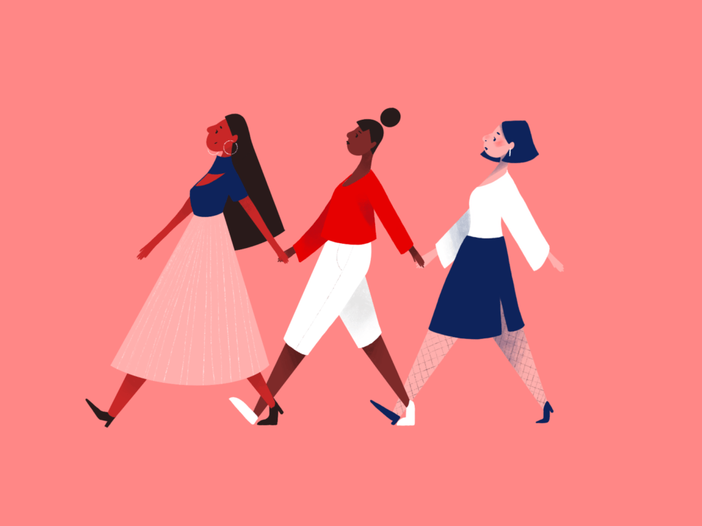 Women Supporting Women by Gloria Shugleva on Dribble