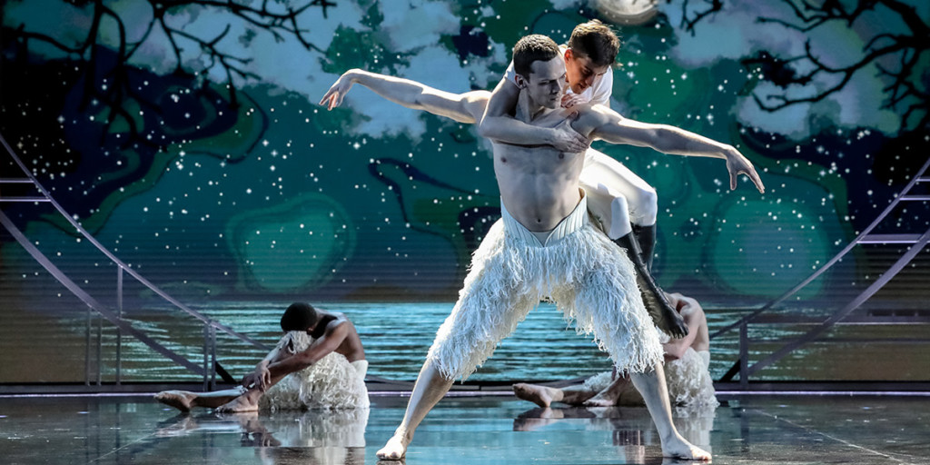 Matthew Bourne's Swan Lake at the Olivier Awards