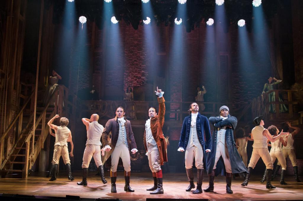 Entertainment Arts: Hamilton Cast