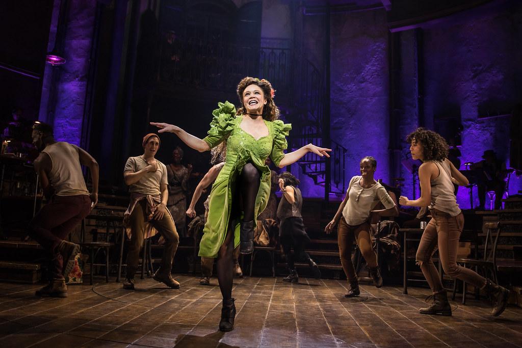 Entertainment Arts: Actress in Hadestown dancing