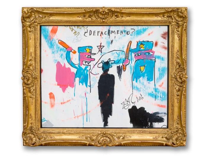 fine art-basquiat-defacement-the guardian