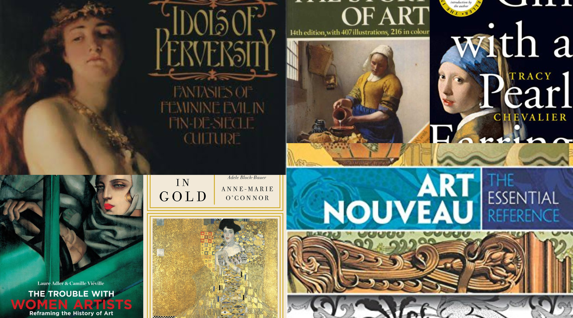 book recommendations for art history students
