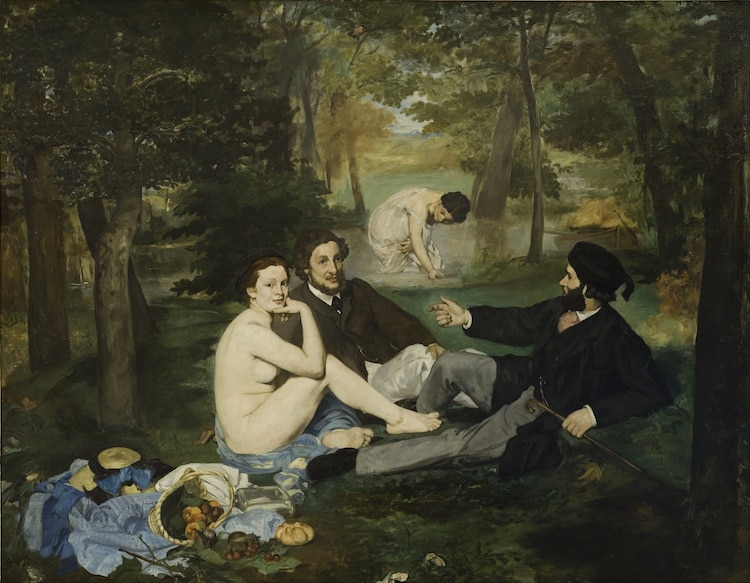 AH-Edouard Manet-Luncheon on the Grass-MyModernMet