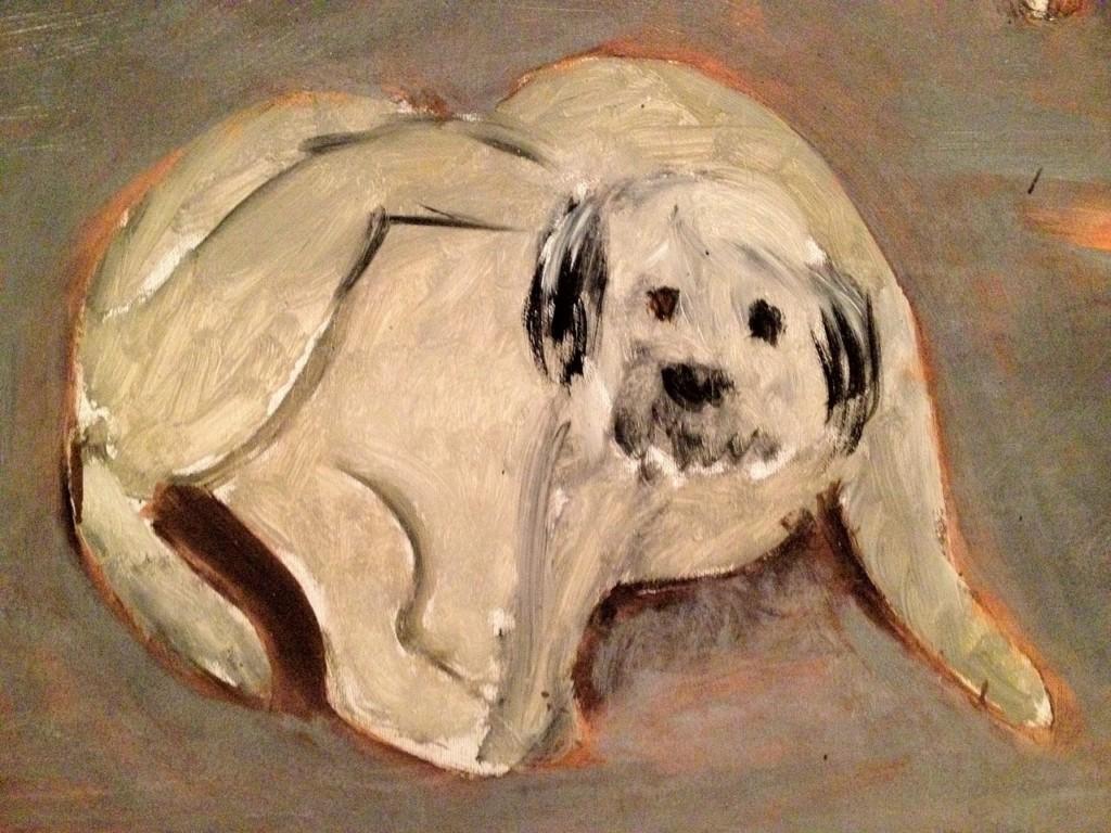 pets in art-matisse dog-tumblr