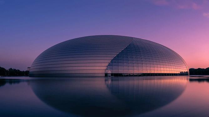 ARCH-modern-natl centre performing arts-cgtn