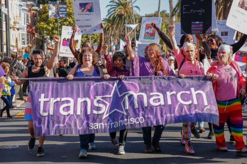 Pride-2004 Trans March-KQED
